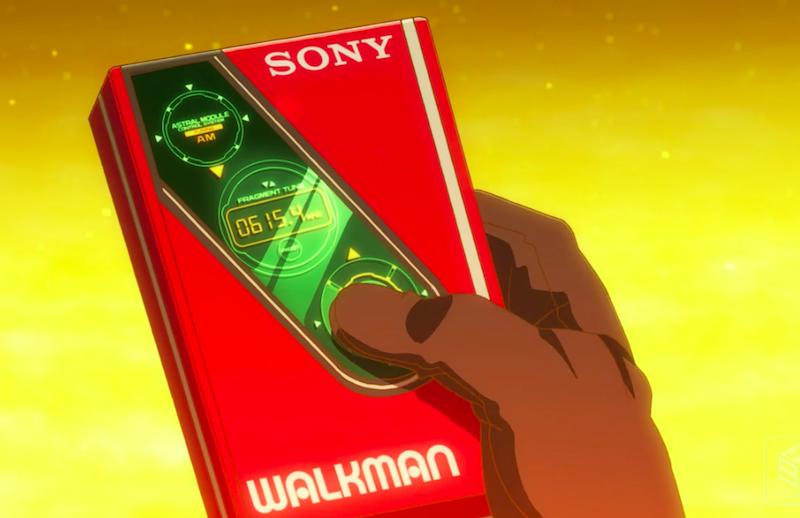 「あかねさす少女」アスカが持っているのはSONY WALKMAN